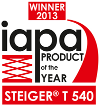 iapa product of the year 2013 Steiger T540