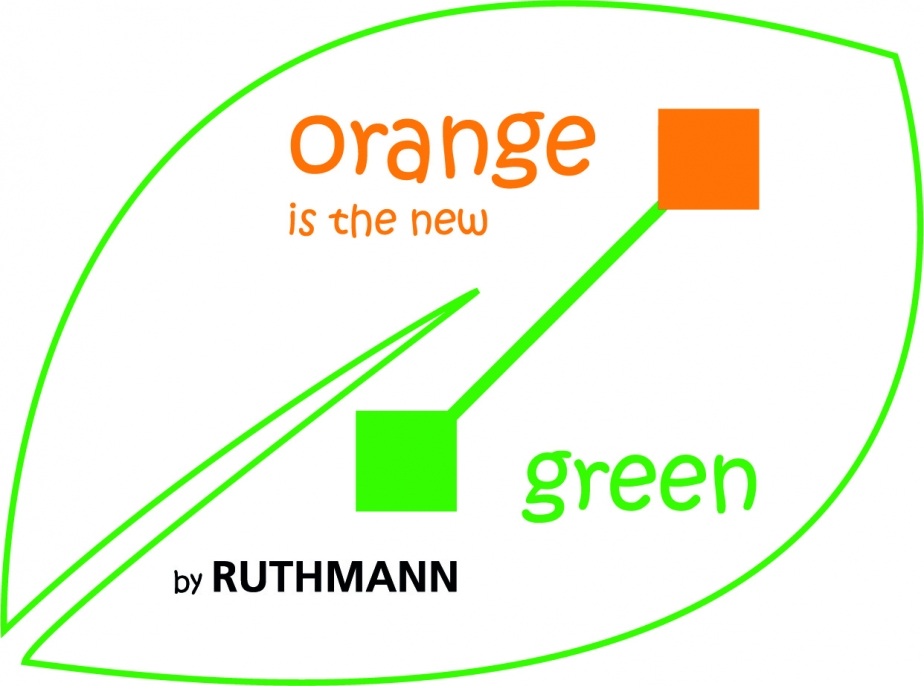 "Logo ""orange is the new green"""